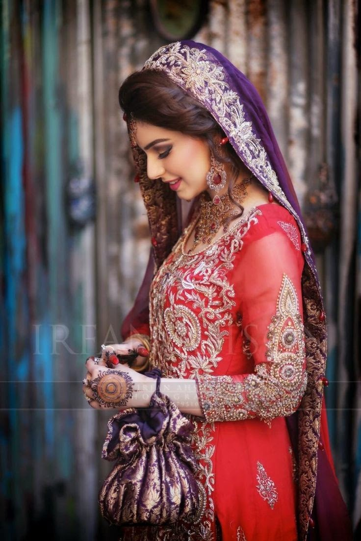 Wedding dresses for girls pakistani pics